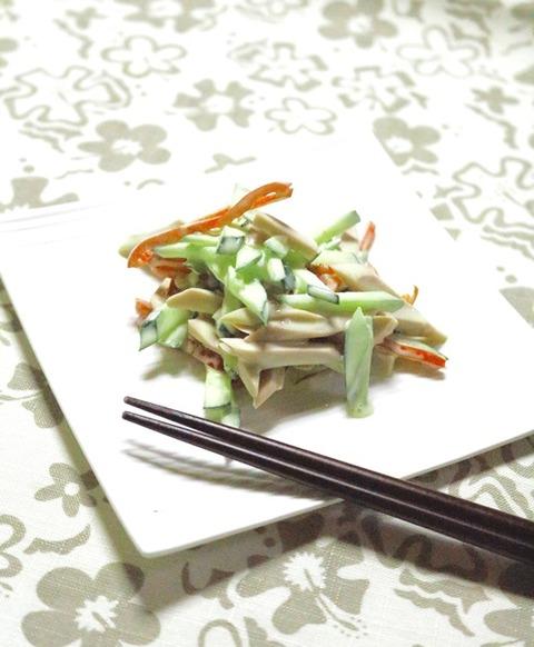 きゅうりの和風サラダ