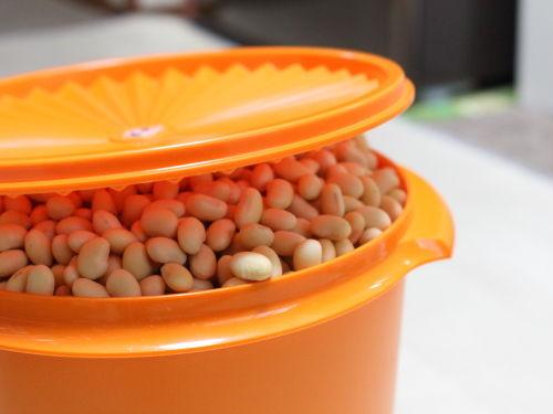味噌作りのための仕込み中☆明日はお味噌を作ります!