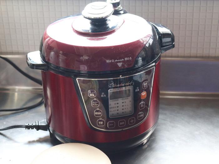 トウモロコシ&ベビーコーンの蒸し調理☆ガスが無くても電気があれば使える電気圧力鍋!!