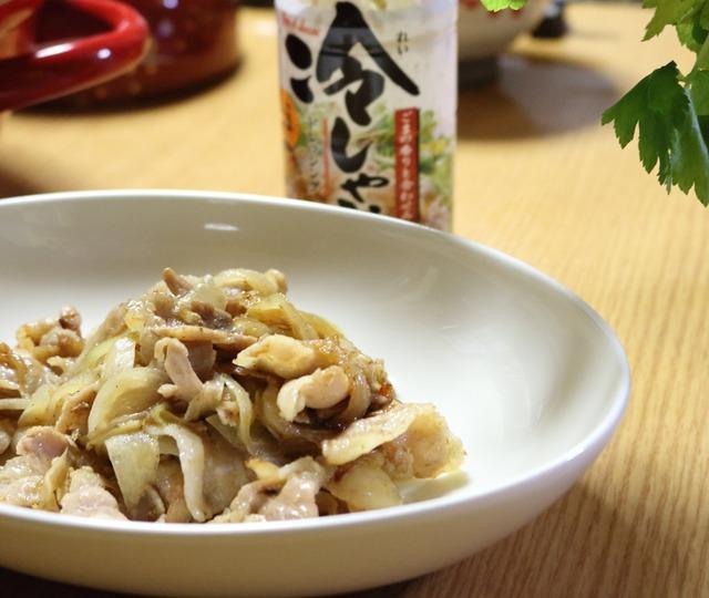 豚バラ肉炒め3