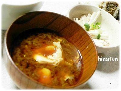0820卵入りお味噌汁