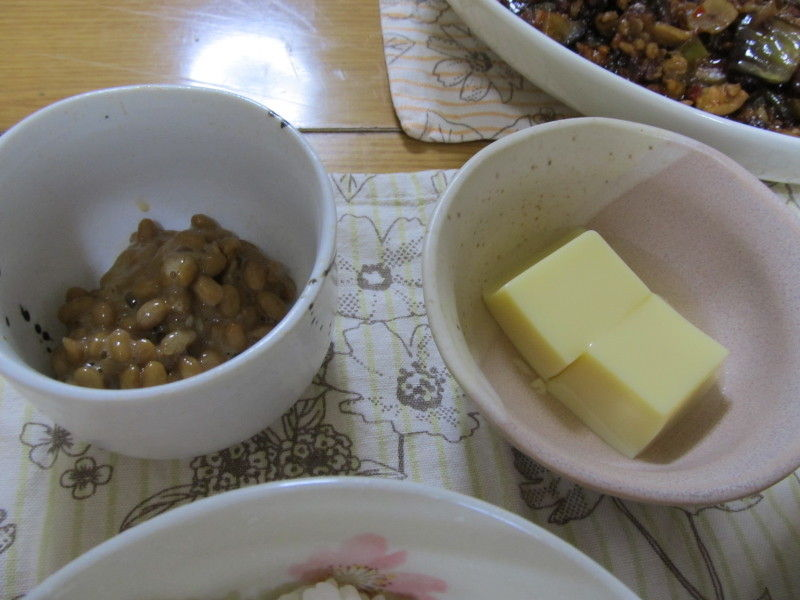 hinatunの!なちゅらる日記-たまご豆腐&納豆