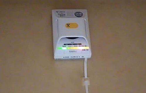 0718ガス警報器熱中症ランプ点灯