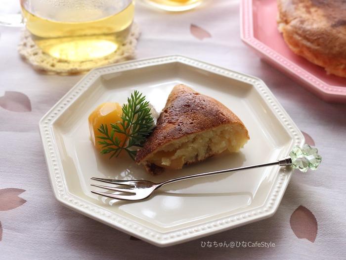 栗のパンケーキ1
