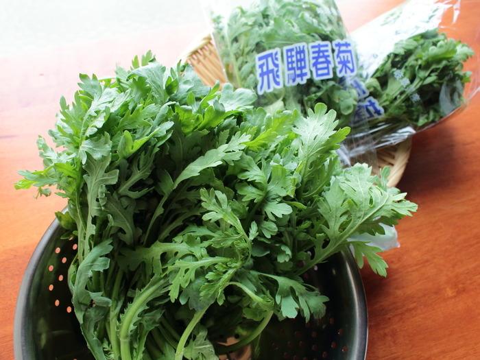 岐阜県産春菊のミックスサラダ【レシピ】岐阜クッキングアンバサダー