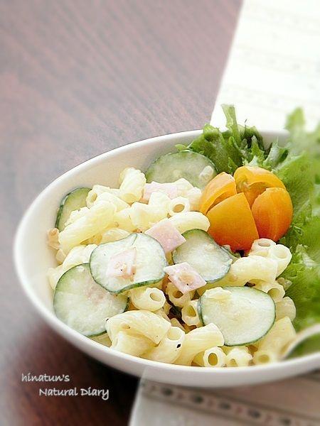 塩レモン風味のマカロニサラダ2