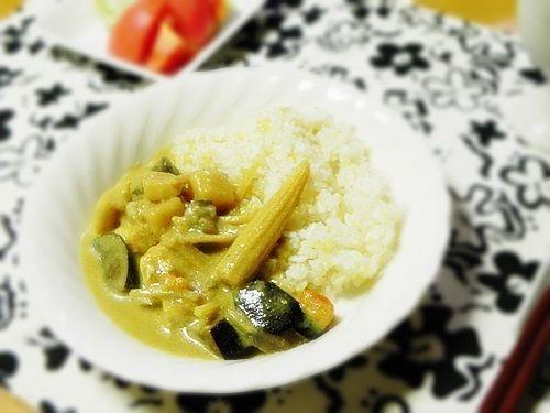 【モラタメ当選】Daily Rich 具だくさん調理ソースで作るエスニック風グリーンカレー