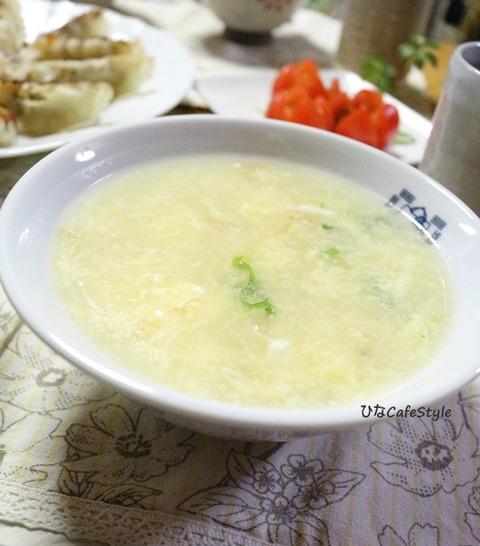 ふわふわ卵スープ