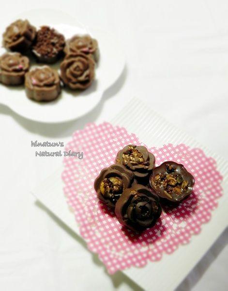 薔薇の生チョコ グラノーラ & クッキークランチ