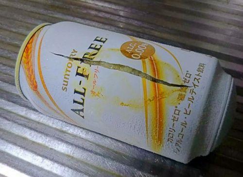 1101ビール破裂