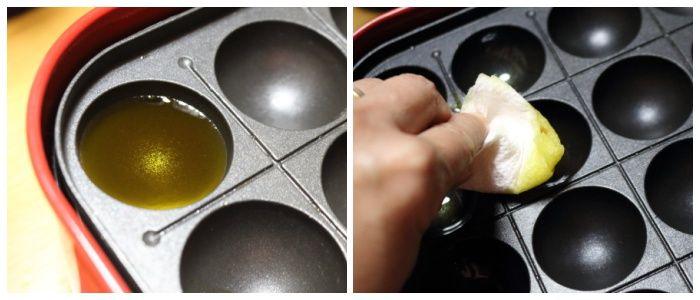 油の塗り方