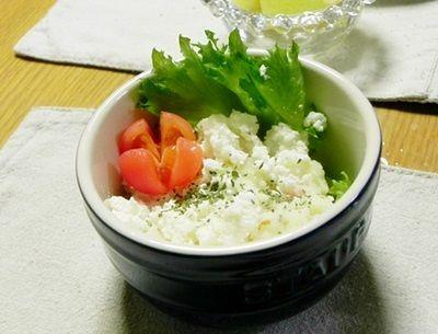 【つくれぽ】Cho-cocoさんの!自家製フレッシュチーズのクリーミィーポテトサラダ