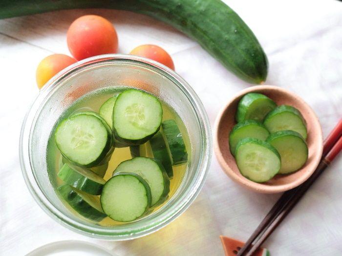 家で作る浅漬けの素!きゅうりの浅漬け☆夏野菜きゅうりが沢山ある時のお勧めレシピ4選!