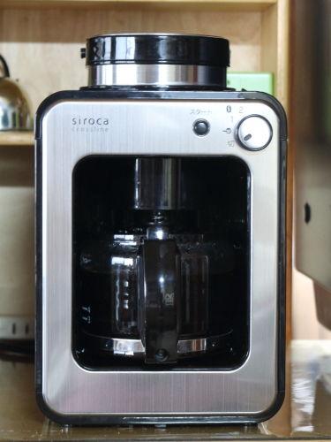 1224Sirokaコーヒーメーカー