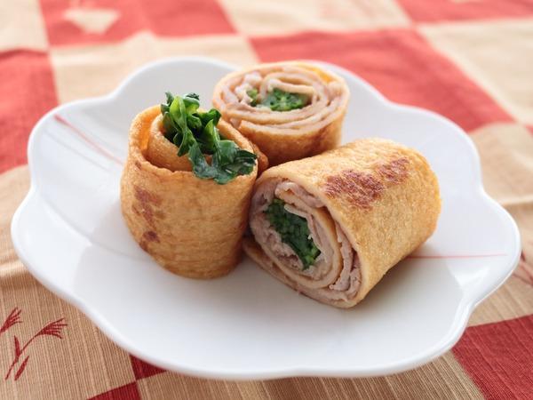 一正蒲鉾の練り製品で作るお弁当のおかず☆第3弾☆豚肉と豆苗のうすさつ巻き
