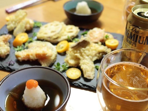 0402プレモルと天ぷらの夜ご飯2_1600