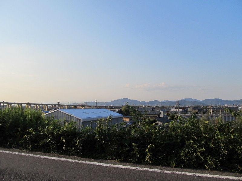 hinatunの!なちゅらる日記-堤防より(川島付近)