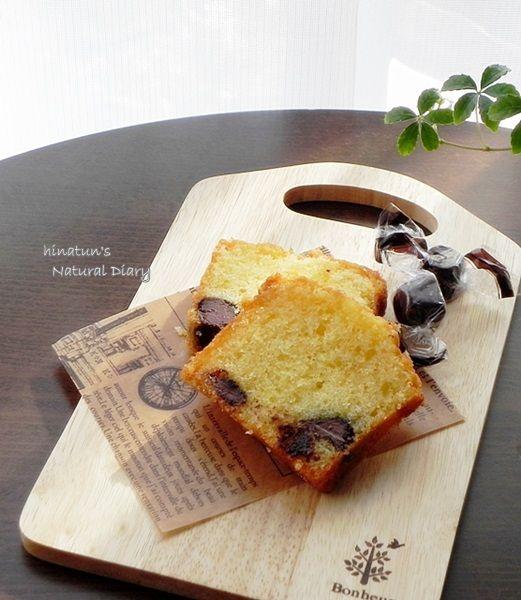 ミルクチョコ入りパウンドケーキ2