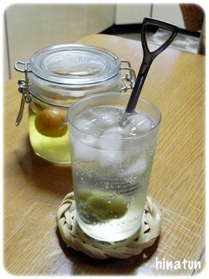 梅酢ソーダ