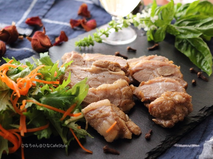 豚肉の甘酢煮