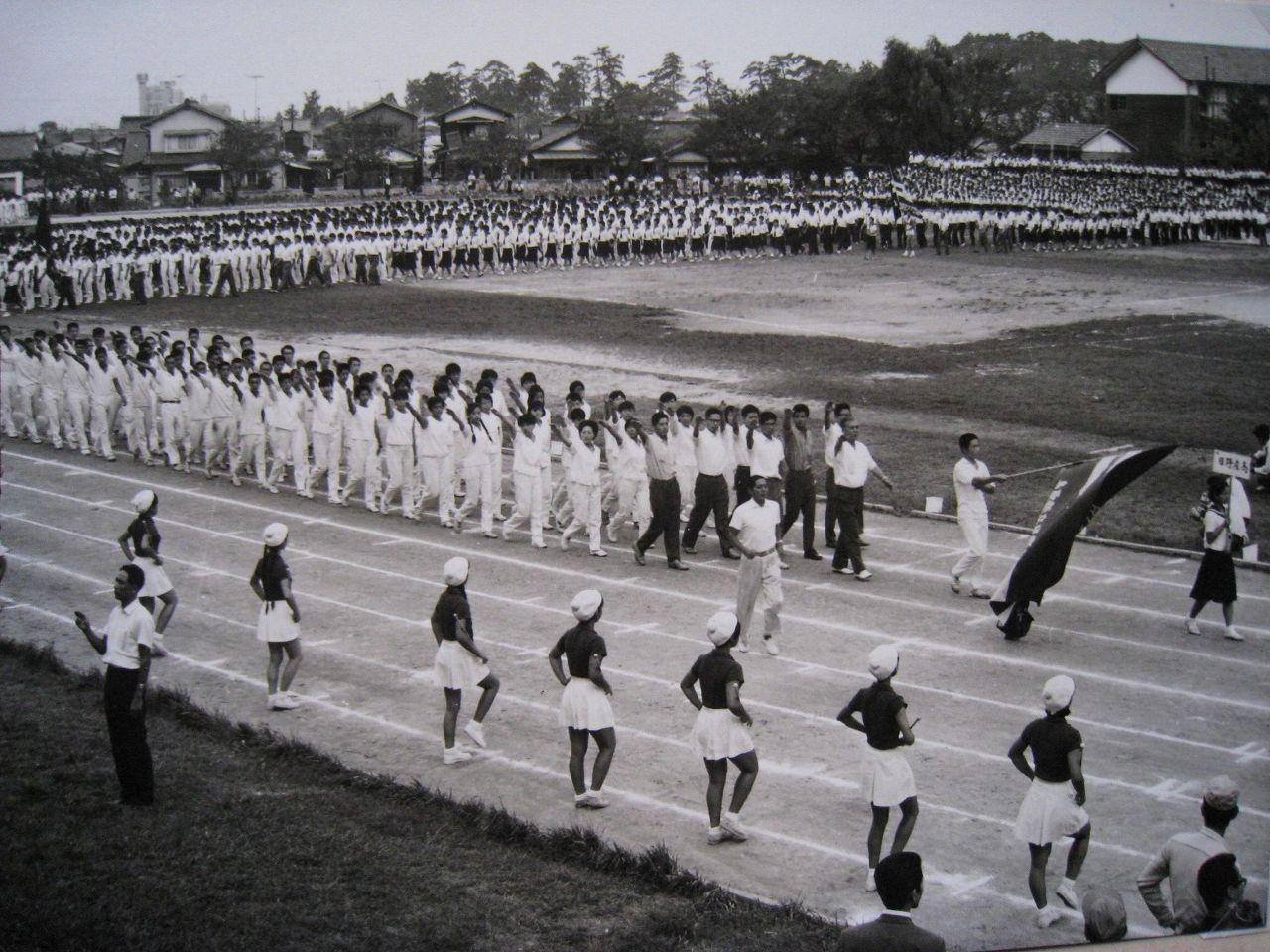 005-65年県体入場 旗手