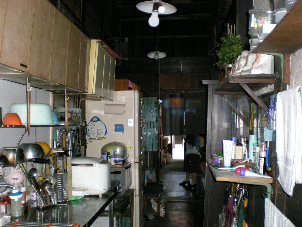 町家の台所