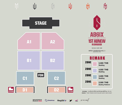AB6IX 1ST FANMEETING 1ST ABNEW IN BANGKOK2