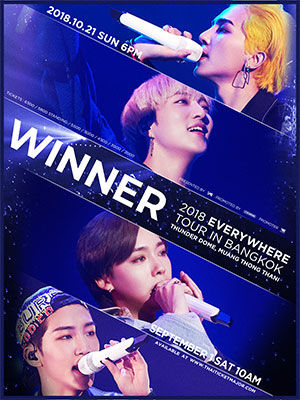 WINNER 2018 EVERYWHERE TOUR IN BANGKOKバンコク予約ドットコム4