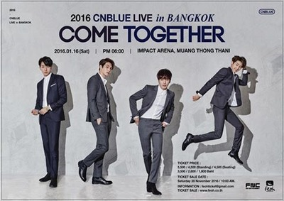 2016 CNBLUE LIVE [COME TOGETHER] in BANGKOK