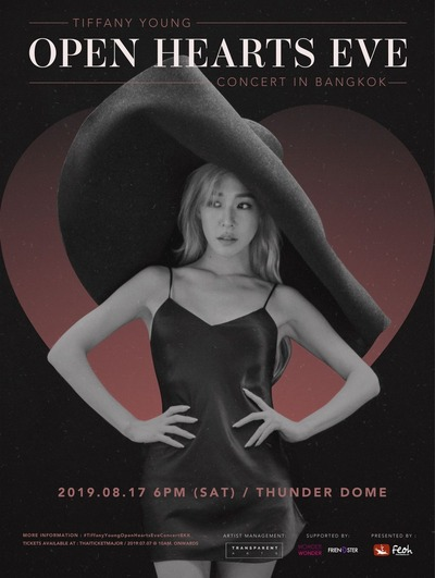 TIFFANY YOUNG_OPEN HEARTS EVE_CONCERT IN BANGKOK