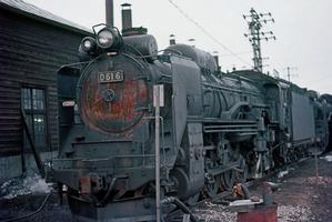 D61形蒸気機関車 全車両 留萠本...