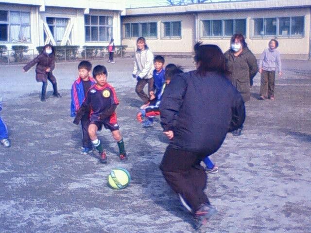 クリスマス親子サッカー大会