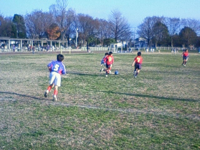 練習試合(  4年生)