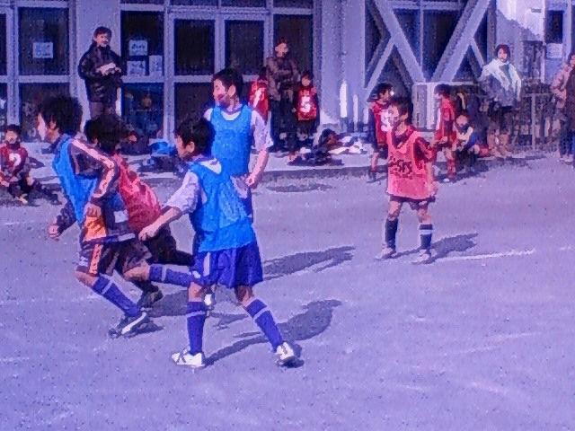 新春初蹴り