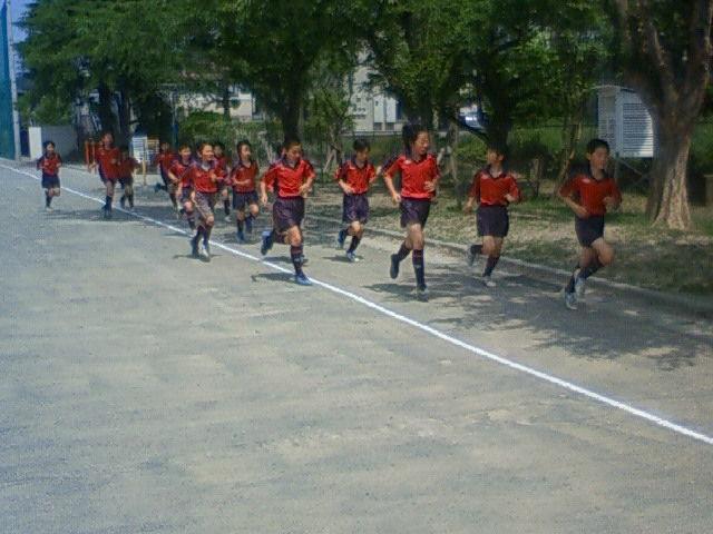 5月26日トレーニングマッチ