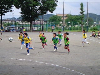 7月4日 1・2年生練習試合