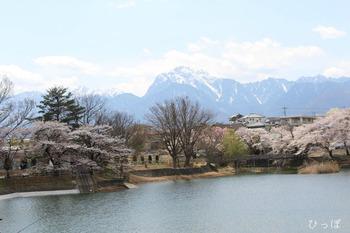 長坂湖畔−2