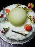 クリスマスケーキ。