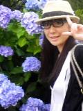 紫陽花と自分。