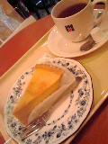 ケーキセット。