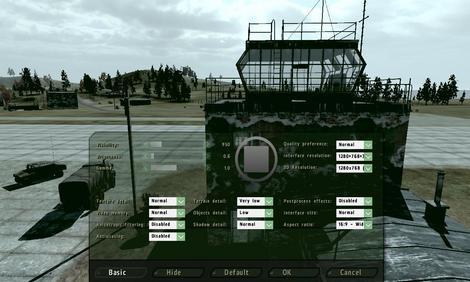 arma2 setting