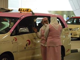 ドバイピンクタクシー