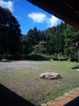 縁側からの風景
