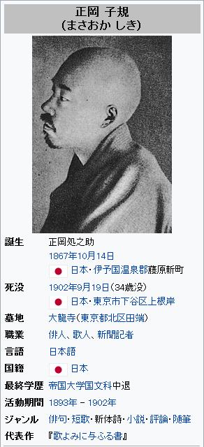 Screenshot_2019-10-14 正岡子規 - Wikipedia