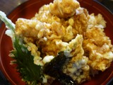 3F飛騨で タラ白子天丼