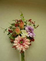 診療室のお花