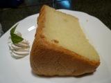 木馬の館、米粉のシフォンケーキ