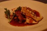 鹿児島黒豚フィレ肉とエリンギのステーキ