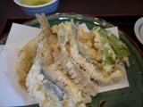 飛騨 節分の日に、いわしの天ぷら