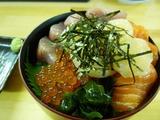 じんべいの海鮮丼